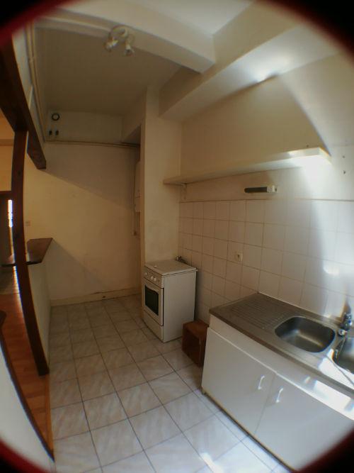 Etude déco - Cuisine appartement d'étudiant avant aménagement