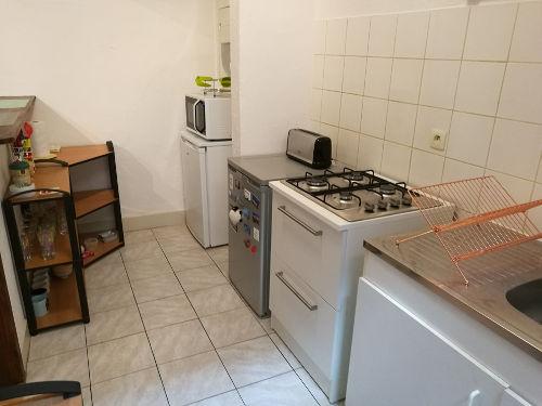 Etude déco - Cuisine appartement d'étudiant après aménagement