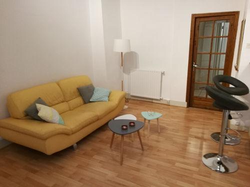 Etude déco - Pièce à vivre appartement d'étudiant après aménagement